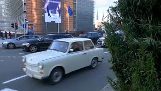 The Brief: a time-travel trip in a Trabant - 'Ostalgia' in Brussels