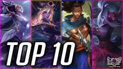 Top 10 Best MID Laner Champions Season 10 | LoL Midlane montage 2020 (League of Legends)