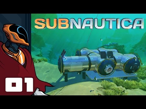 Let's Play Subnautica [Precursor Update] - PC Gameplay Part 1 - Cool Guys Watch Explosions