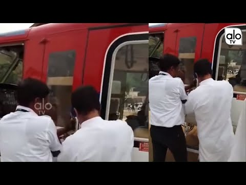 Rahul Gandhi Helps Pilot to Repair Helicopters Door | Viral Video | #RahulHelicopterVideo | Alo Tv