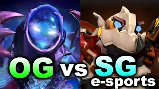 OG vs SG e-sports - Kiev Major Groups DOTA 2