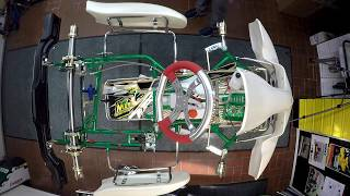RMW motorsport Tonykart RACER 401S Chassis Montage 2017