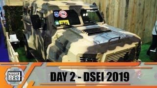 DSEI 2019 International Defense and Security Exhibition London UK Land Zone Show daily Web TV Day 2