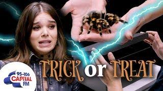 Hailee Steinfeld Plays Terrifying Game With A Tarantula 🕷️ | Capital