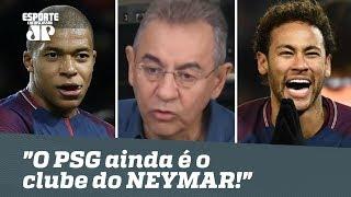 """Mbappé? """"O PSG ainda é o clube do NEYMAR!"""", dispara Flavio"""