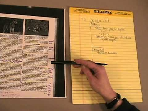 Creating Cornell Notes
