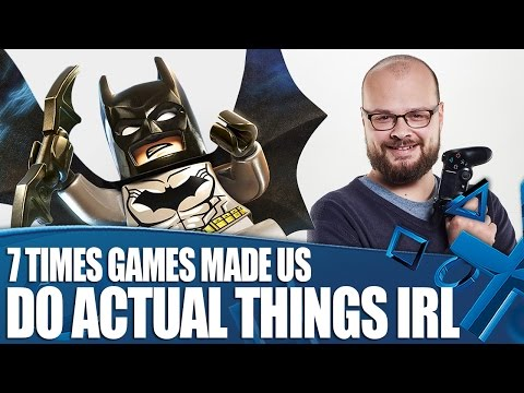 7 Times Games Made Us Do Actual Things In Real Life