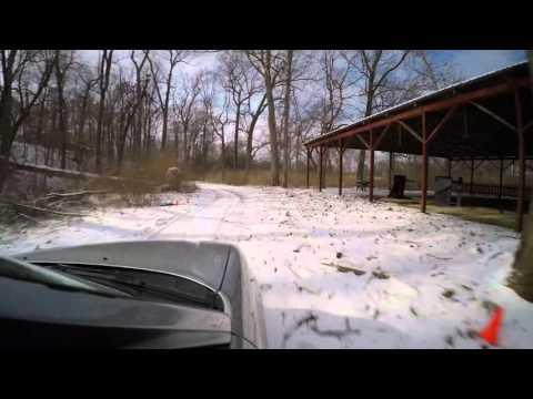 BRAKIM x NASA Ohio Winter Rally Stage 1 Snow Test 4K Resolution