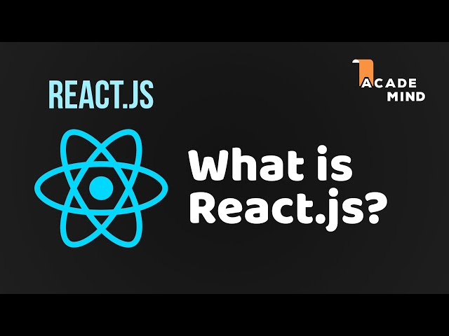 ReactJS Basics - #1 What is React?