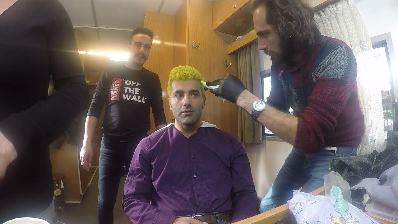 Kalk Gidelim Kamera Arkası - Şakir'in Saçı