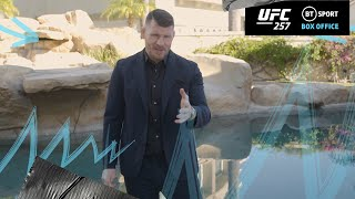 We couldn't get a proper UFC legend to promote UFC 257, just Michael Bisping!