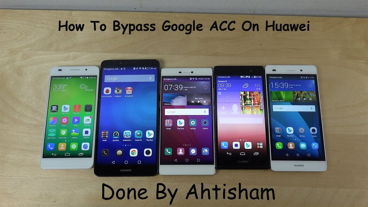 How To Bypass Google Account On Huawei Lua L21