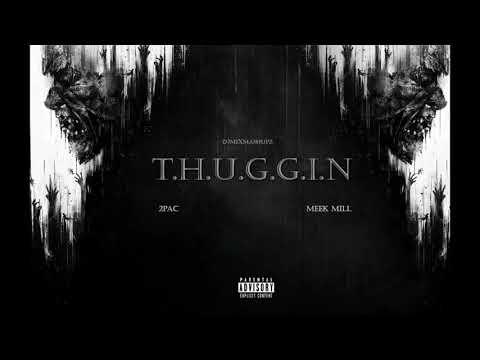 2Pac  Thuggin ft Meek Mill Audio