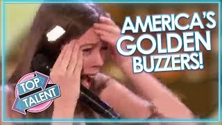GOLDEN BUZZERS On America's Got Talent 2018! | Top Talent