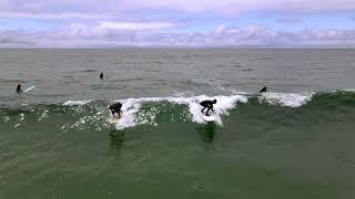 Surfing at Torrey Pines City Beach