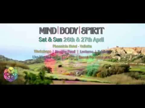 Malta Mind Body Spirit Expo - April 26 27 Phoenicia Hotel Valletta