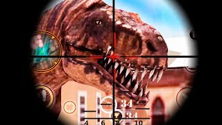 - Carnivores Dinosaur Hunter 3D City Attack Android Gameplay FullHD