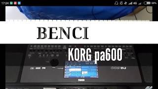 Download BENCI Karaoke lirik cover KORG pa600 Mp3