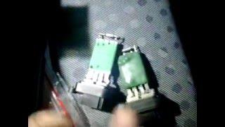 Форд Транзит - Замена реостата отопителя(, 2016-02-01T18:22:57.000Z)