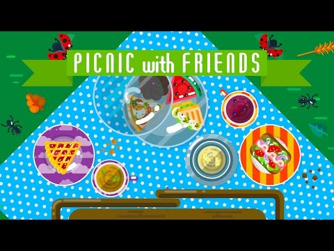 Picnic with Friends  - Available on the Apple AppStore, Google Play and Amazon!