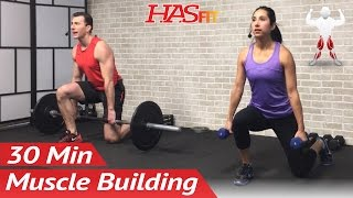 30 Minute Bodybuilding Leg Workout to Build Muscle - Bodybuilding Workout at Home - Legs Exercises
