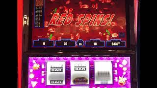 "VGT Slots ""Crazy Cherry Wild Frenzy""  $45 & $90 Spins Jackpots Choctaw Casino, Durant JB Elah Slots"