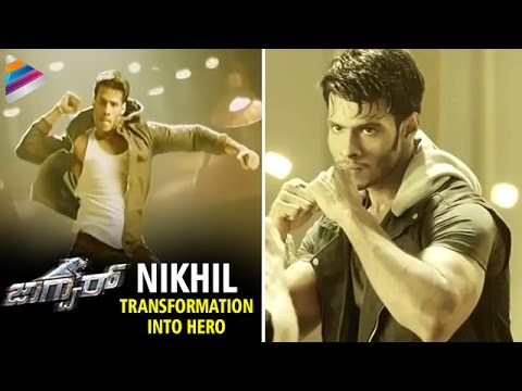 Jaguar Telugu Movie | Nikhil Kumar Transformation Into Hero | Jagapathi Babu | Telugu Filmnagar
