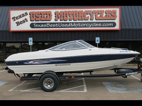 2012 Stingray 185LX, Open Bow Runabout, Family Ski Boat, For Sale In Texas