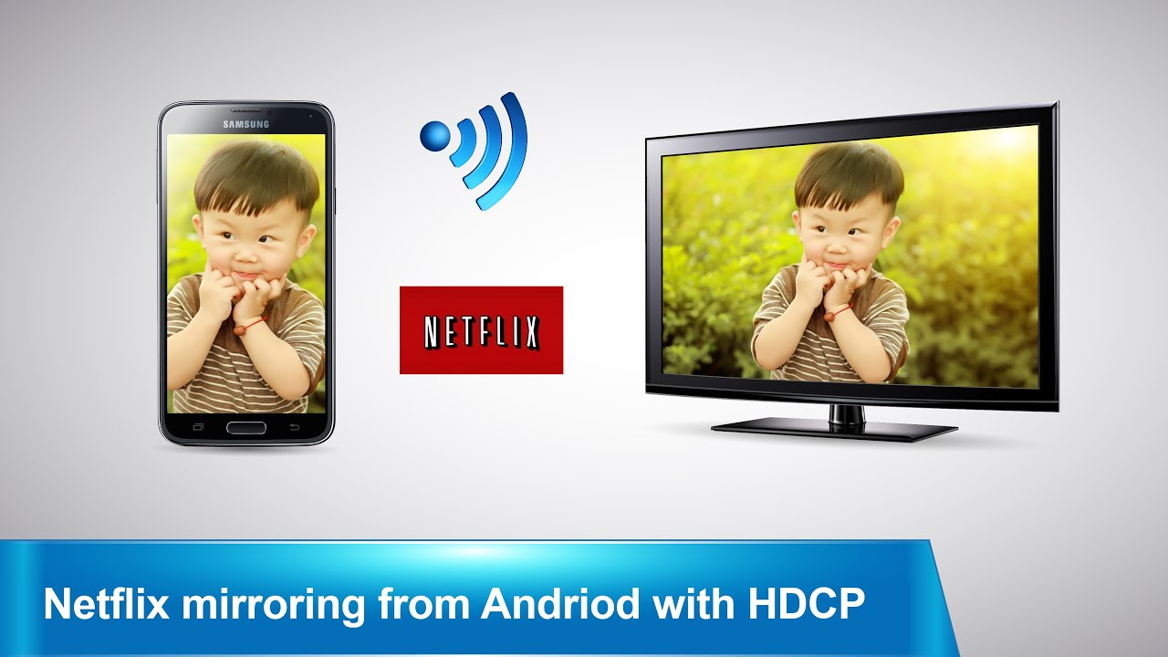 Mirascreen Mirror Netflix From Android Device To Tv Screen