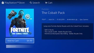 HOW TO GET THE NEW FORTNITE COBALT STARTER PACK FREE ON CONSOLE PS4/XBOX! NEW COBALT STARTER PACK