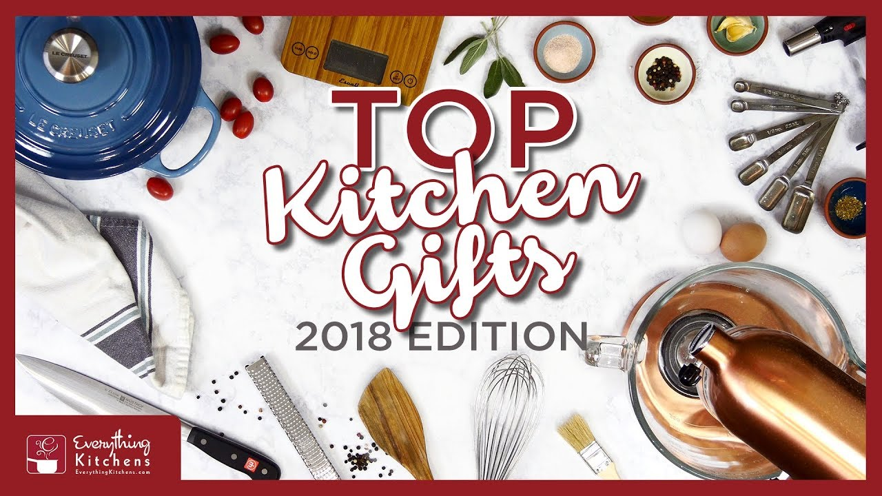 Top 10 Kitchen Gifts & Gift Ideas   2018 - Cooking Gifts for Christmas