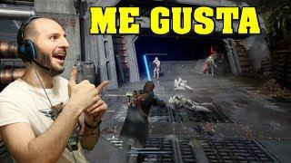 ¡MI REACCIÓN A GAMEPLAY DE STAR WARS JEDI FALLEN ORDER! - Sasel - trailer - ea - e3 - ps4