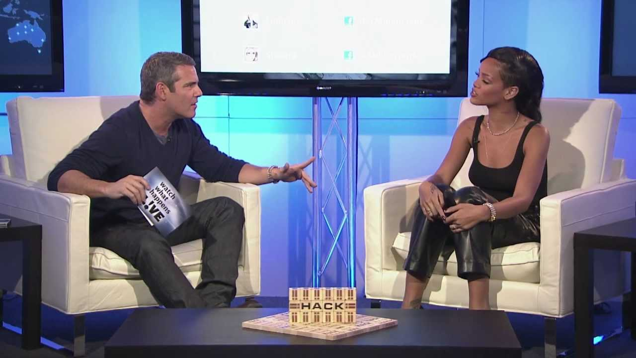 Rihanna Facebook Live Chat- Full Show
