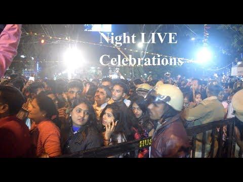 NEW YEAR 2019 Celebration Highlights Bangalore | New Year India Celebration | Brigade Road #NewYear