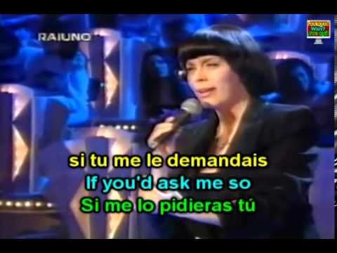 Learn French with   Mireille Mathieu L'Hymne à L'Amour   YouTube