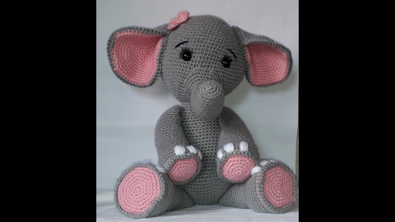 Amour Fou | Crochet }: { Gustav, the balancing elephant... } | 720x1280