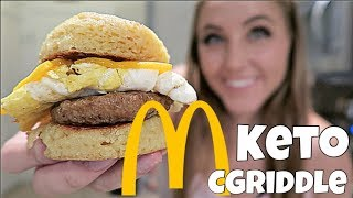 Keto McDonald's McGriddle | Make in Under 10 Minutes!