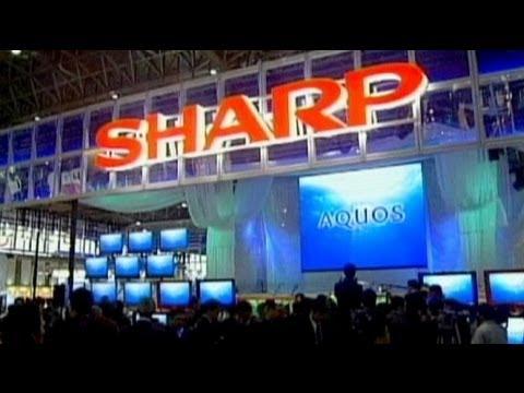 Sharp Corp ateş hattında