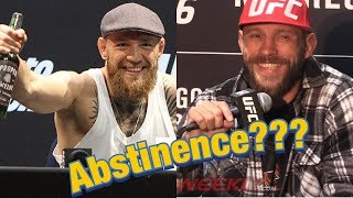 Cowboy Cerrone reacts to Conor McGregor abstaining from alcohol  (UFC 246)