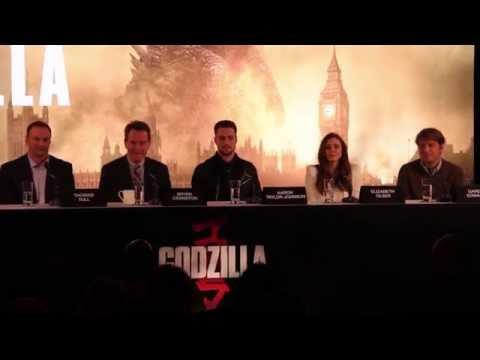 Godzilla Press Conference in Full (Cranston, Johnson, Olson, Edwards)