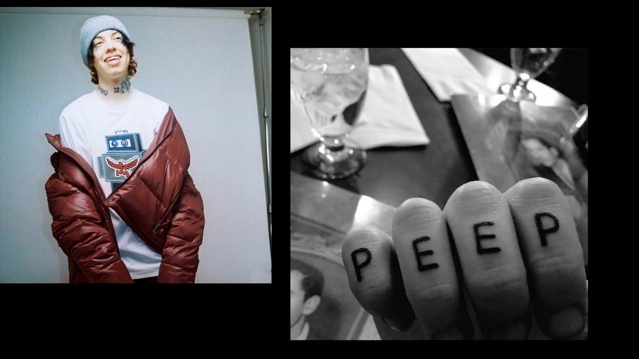 Lil Peep Rose Tatoo Hand: Lil Xan Gets A LIL PEEP TATTOO & Goes To DISNEY WORLD