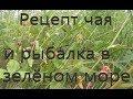 Рыбалка в зеленом море))) Заварка травяного чая из белоголовника и море удовольствия от природы