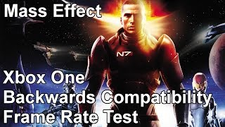 Mass Effect Xbox 360 vs Xbox One Backwards Compatibility Frame Rate Test