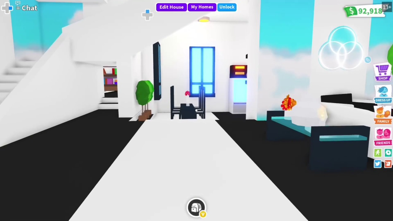 Roblox Adopt Me Celebrity Mansion Modern House Tour Youtube
