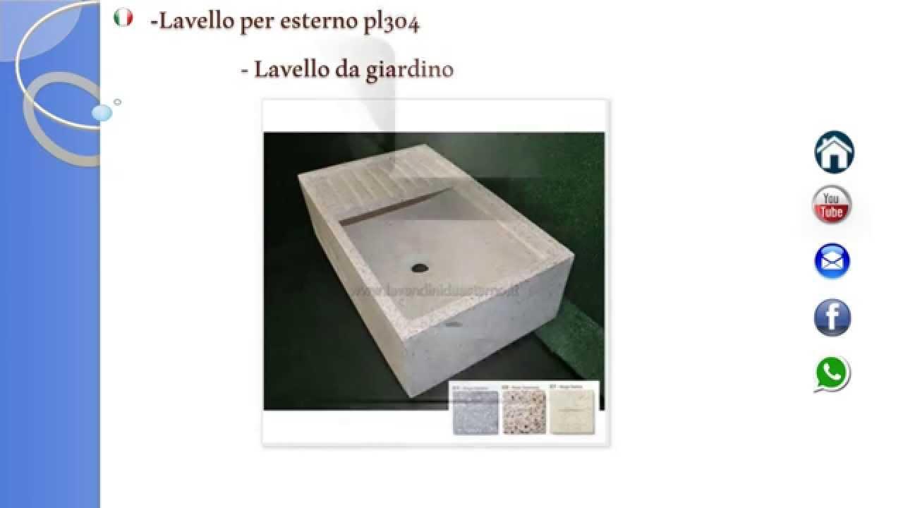 Lavello per esterno lavello da giardino pl304   youtube