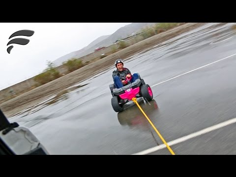 DRIFTING TOY JEEP *COPS CALLED*