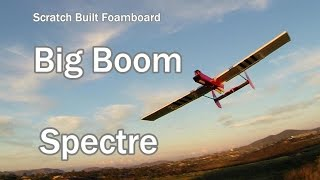 Spectre Big Boom Scratch Built RC Airplane