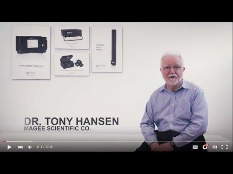 Dr. Tony Hansen (Magee Scientific Co.) about Black Carbon