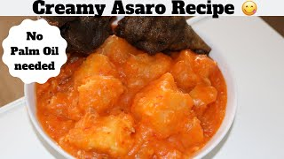 How to make Creamy Yam Porridge | How to make Creamy Yam Pottage | How to make Creamy Asaro