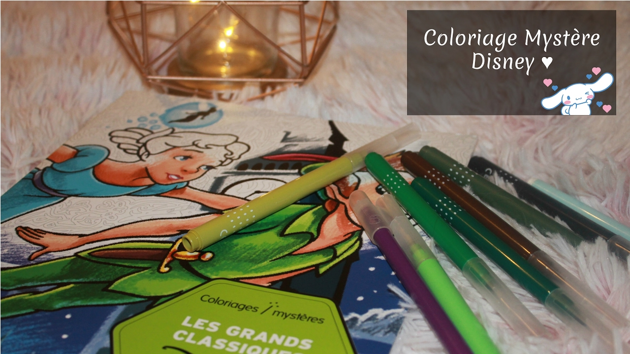 Coloriage myst re disney n 1 youtube - Coloriage youtube ...